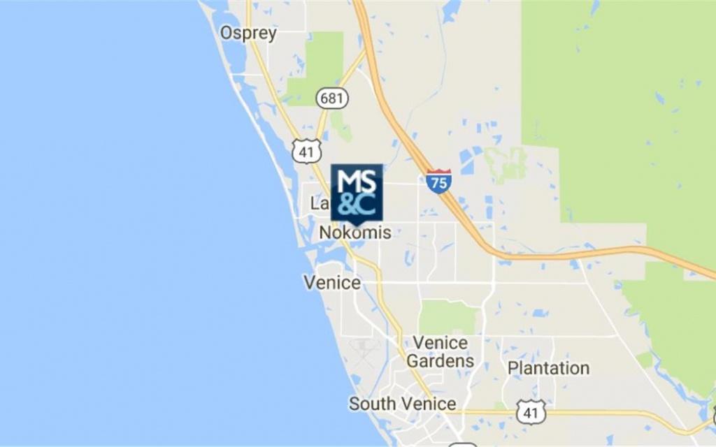 508 E Colonia Lane, Nokomis, Fl 34275 - Industrial Property For Sale - Nokomis Florida Map