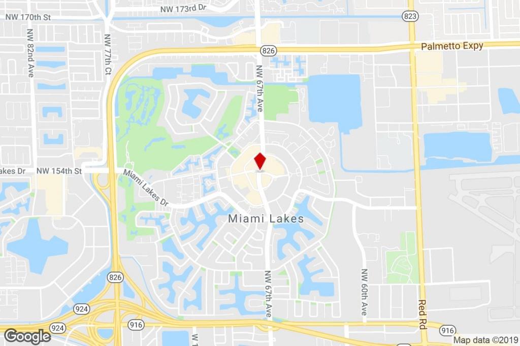 5801 Nw 151 Street, Miami Lakes, Fl, 33014 - Office Condo Property - Miami Lakes Florida Map