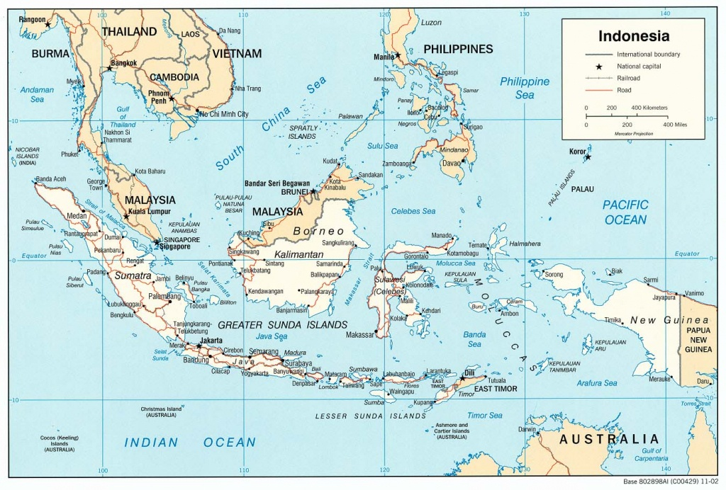 6 Free Maps Of Indonesia - Asean Up - Printable Map Of Indonesia