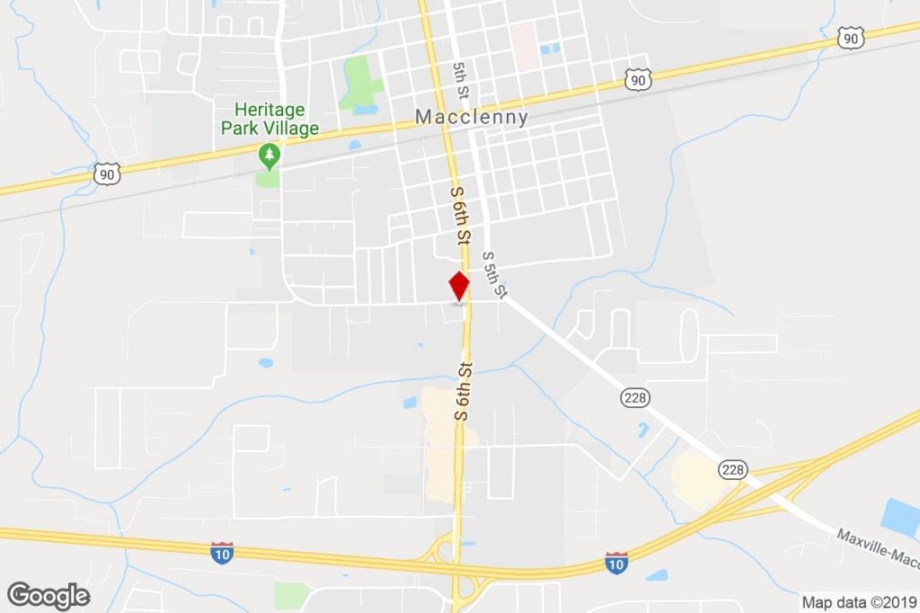 712 6Th St, Macclenny, Fl, 32063 - Freestanding Property For Sale On - Macclenny Florida Map