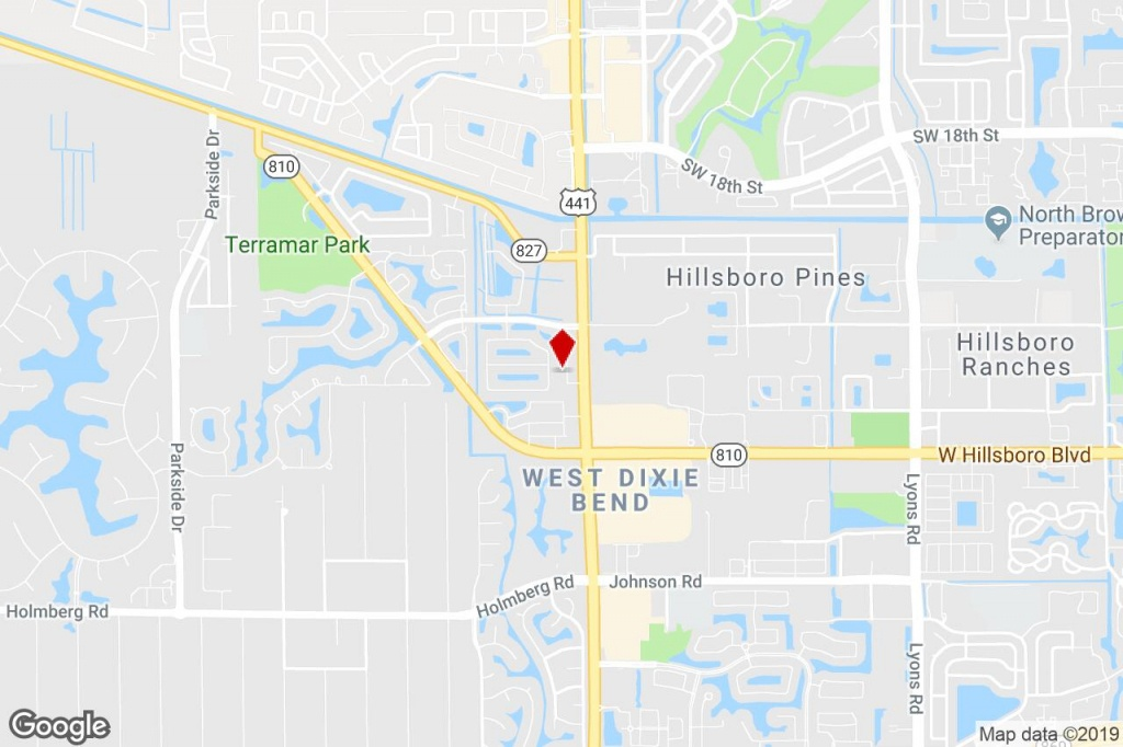 7251-7291 N State Road 7, Parkland, Fl, 33073 - Storefront Retail - Parkland Florida Map