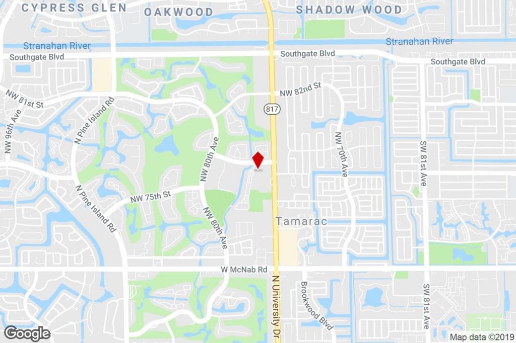 7737 N University Dr, Tamarac, Fl, 33321 - Property For Sale On - Tamarac Florida Map