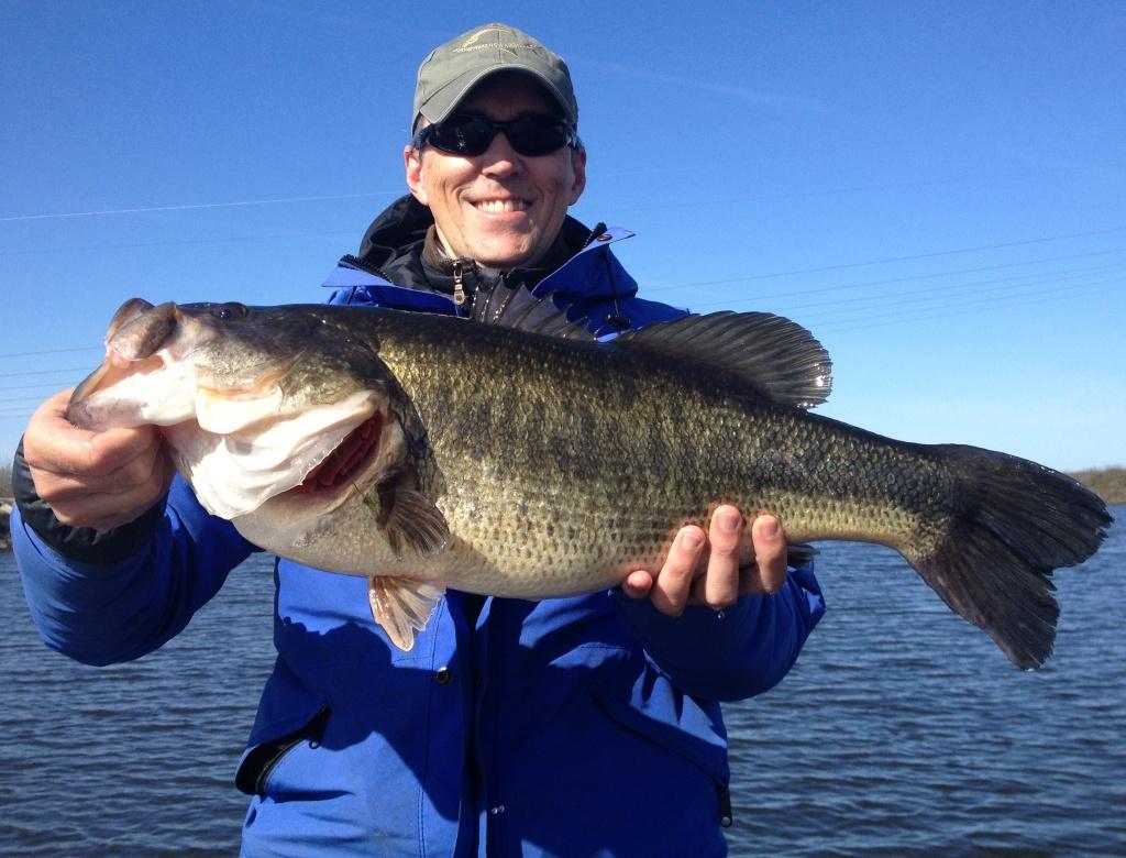 8.25Lbr! California Delta Fishing Springtime Report - Bass Angler - California Delta Bass Fishing Map