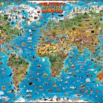 81V0Puzjufl Children S Map Of The World 3   World Wide Maps   Children's Map Of The World Printable