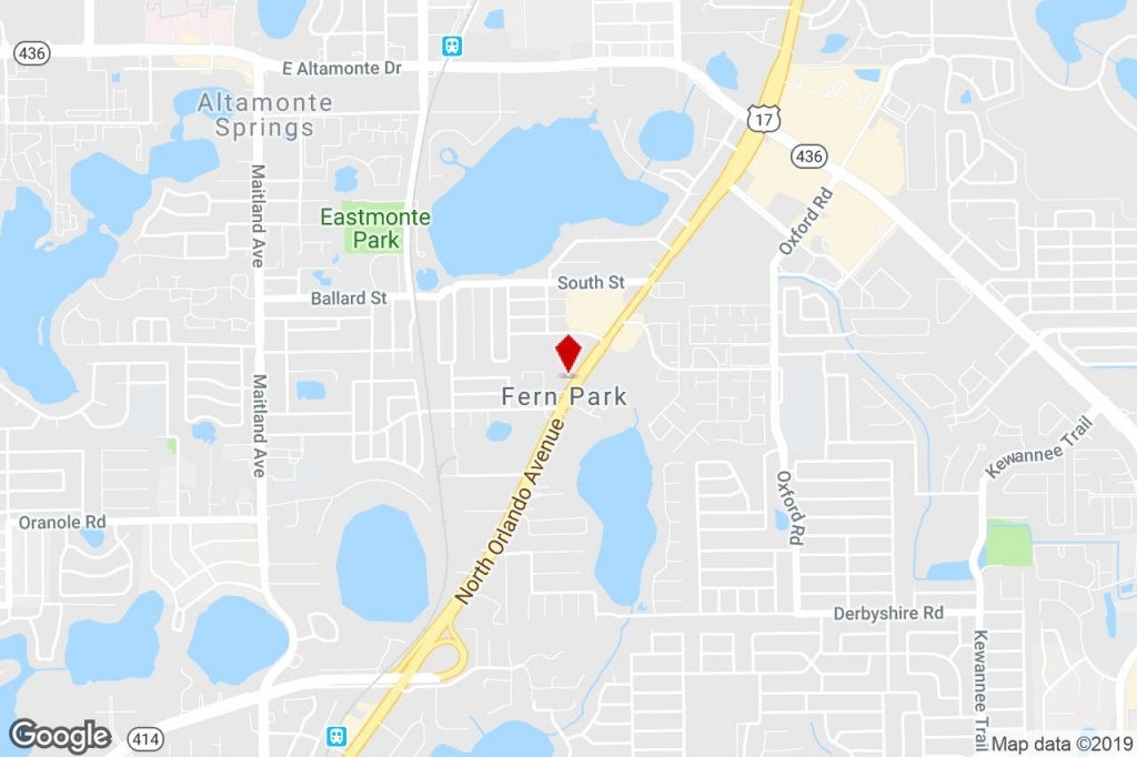 8280 S Us-17-92 Hwy, Casselberry, Fl, 32730 - Freestanding Property - Casselberry Florida Map
