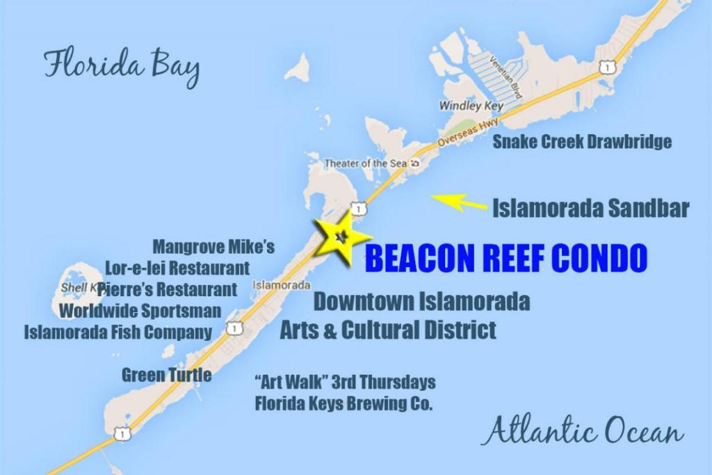 83201 Old Highway Islamorada, Fl.   Mls# 570109   Florida Keys - Islamorada Florida Map