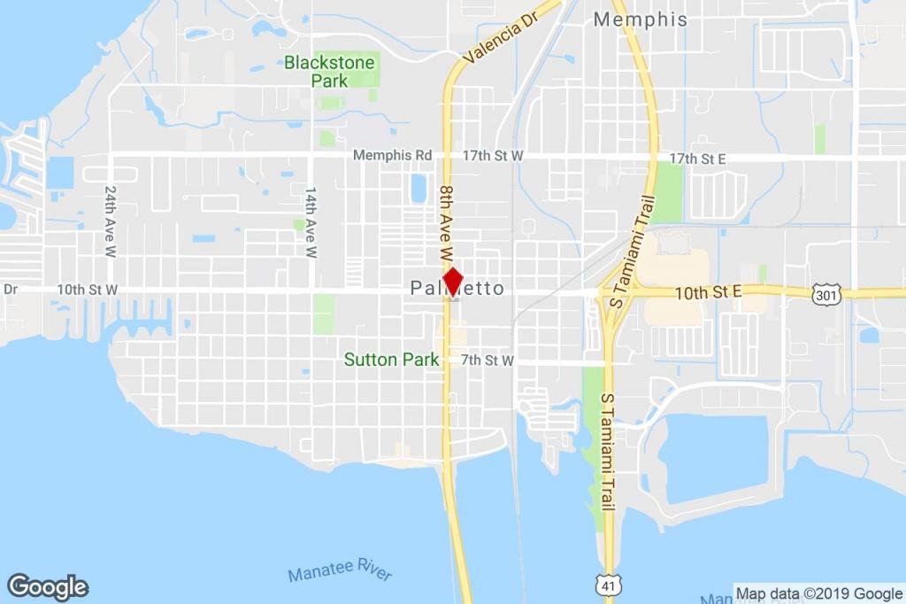 930 8Th Ave W, Palmetto, Fl, 34221 - Drug Store Property For Sale On - Palmetto Florida Map