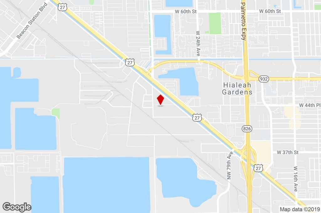 9800 Nw 87Th Ave, Medley, Fl, 33178 - Distribution Property For - Medley Florida Map