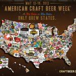 A Map For American Craft Beer Week – Realbeer   Texas Breweries Map
