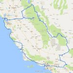A Two Week California Road Trip Itinerary   Finding The Universe   Northern California Road Trip Map