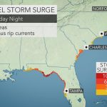 "Accuweather On Twitter: ""a Significant Amount Of Water Will Be   Mexico Beach Florida Map"