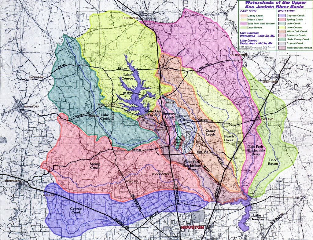 Additional Heavy Rainfall Expected In Montgomery County; Precautions - Conroe Texas Flooding Map