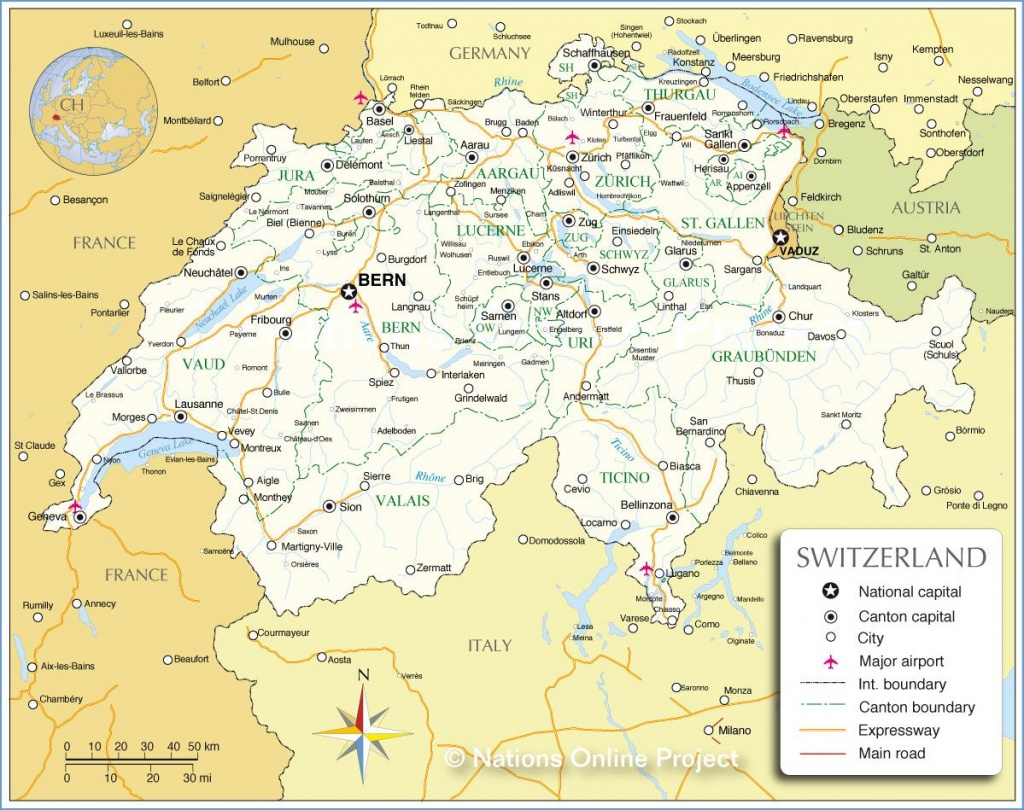 Adelboden Switzerland Map |  Map Of Switzerland Cities And Towns - Printable Map Of Switzerland