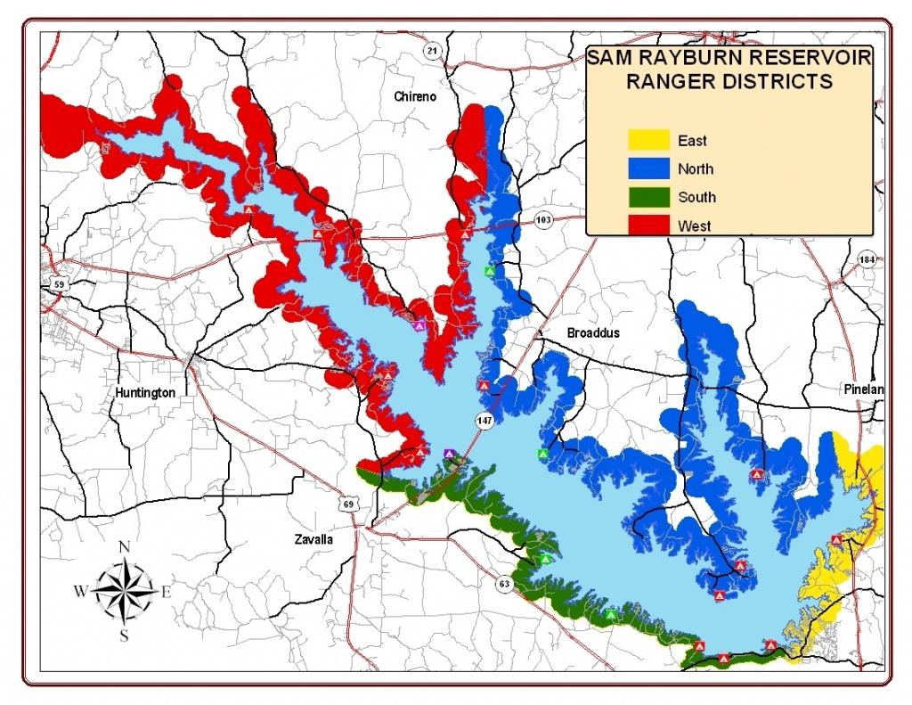 Adjacent Landowner - Lake Of The Pines Texas Map