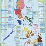 Administrative Divisions Map Of Philippines – Free Printable Map Of The Philippines