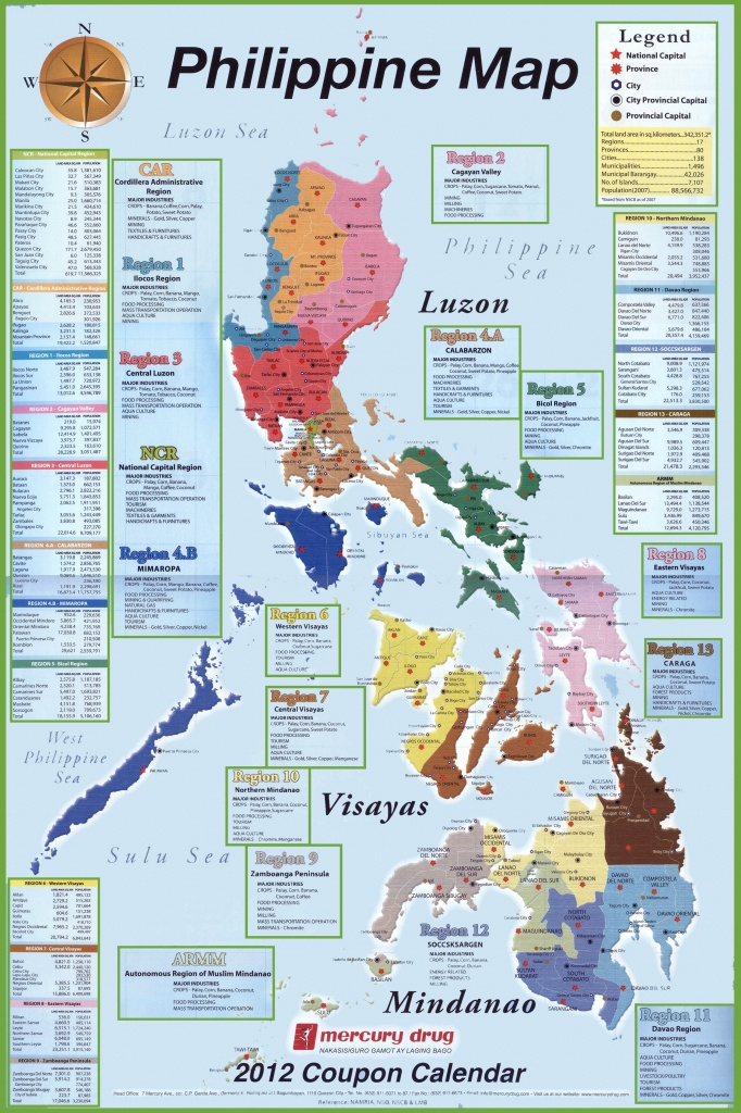 Free Printable Map Of The Philippines