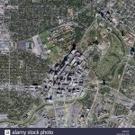 Aerial Map View Above Texas Medical Center Houston Texas Stock Photo   Texas Medical Center Map