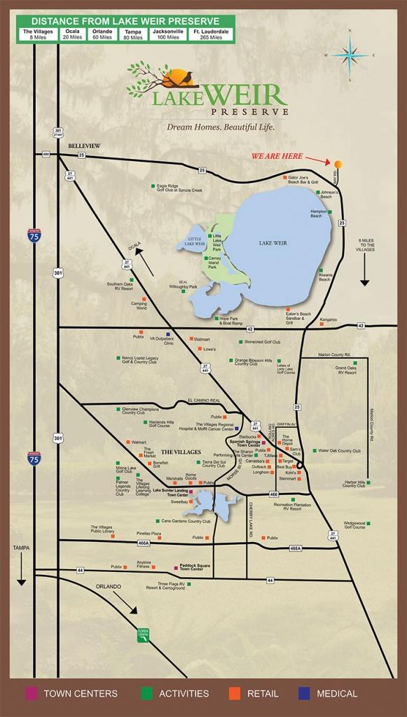 Affordable Property For Sale, Lake Weir, Central Florida, Fl - Ocklawaha Florida Map