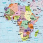 Africa Map Countries And Capitals | Online Maps: Africa Map With   Printable Map Of Africa With Countries And Capitals