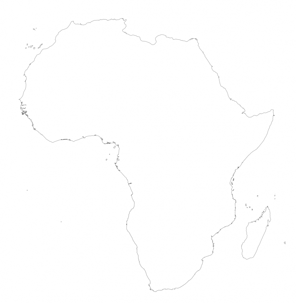 Africa – Printable Maps –Freeworldmaps - Map Of Africa Printable Black And White