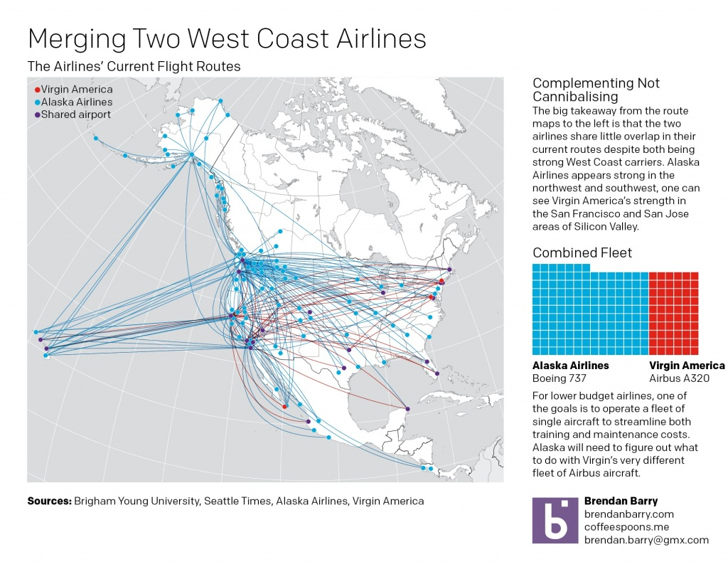 Airlines Coffee Spoons And Virgin America Flight Map Inside At Route - Alaska Airlines Printable Route Map