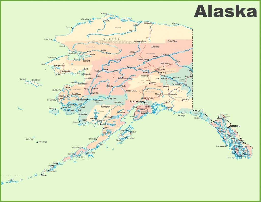 Alaska State Maps | Usa | Maps Of Alaska (Ak) - Printable Map Of Alaska