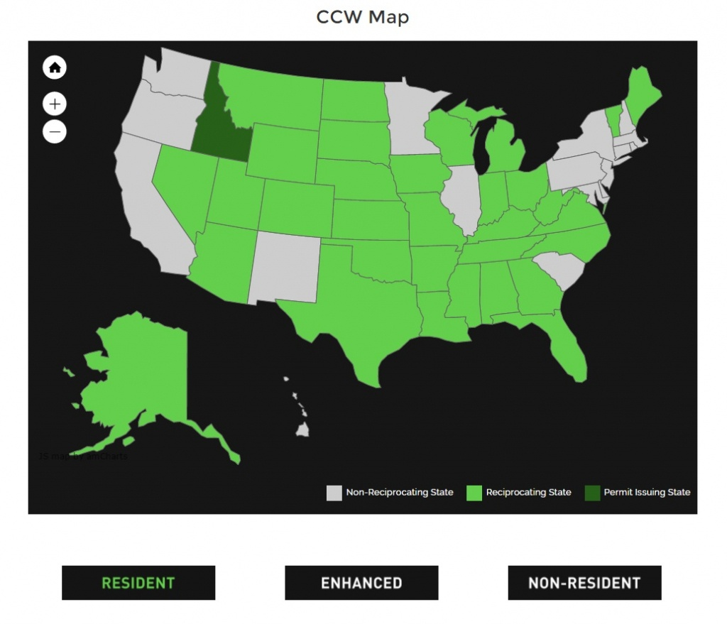 Alien Gear Holsters - Florida Concealed Carry Permit Reciprocity Map