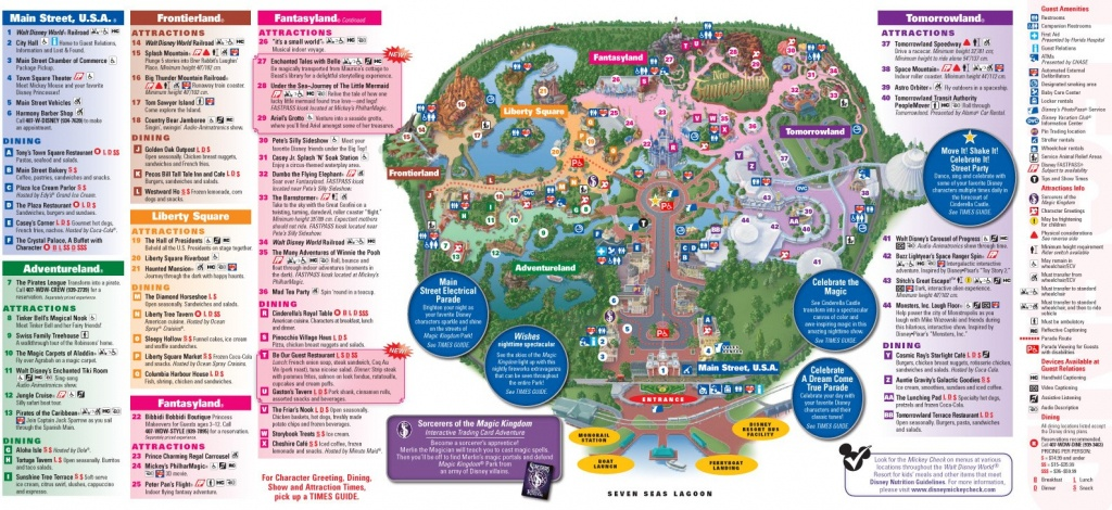 All New 2013 Walt Disney World Park Maps - Chip And Co - Walt Disney World Printable Maps