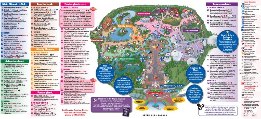 All Walt Disney World Resort Theme Park Maps | Meet The Magic - Printable Disney World Maps