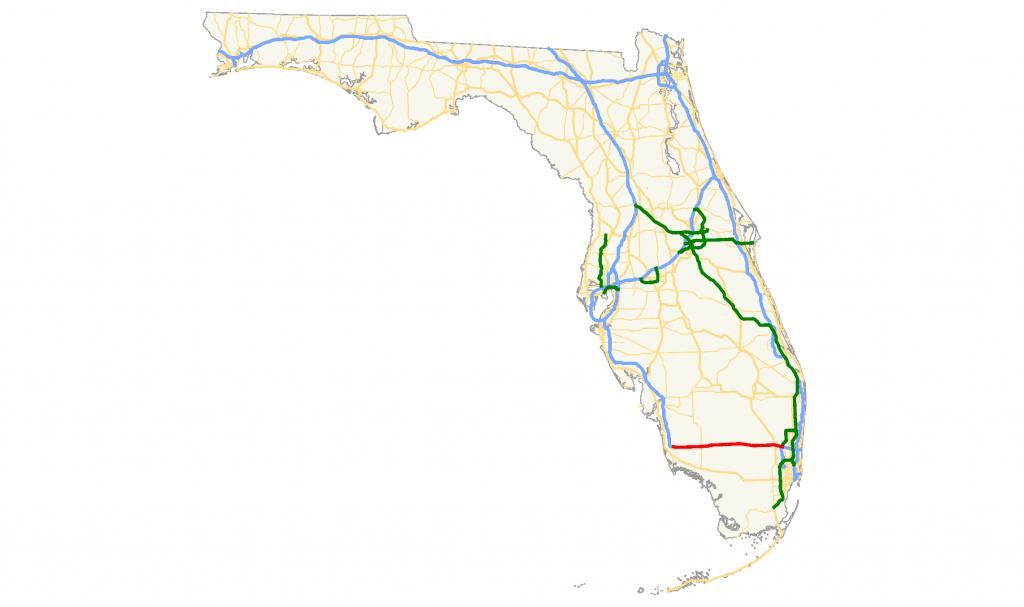Alligator Alley Florida Map   Florida Map 2018 - Alligators In Florida Map