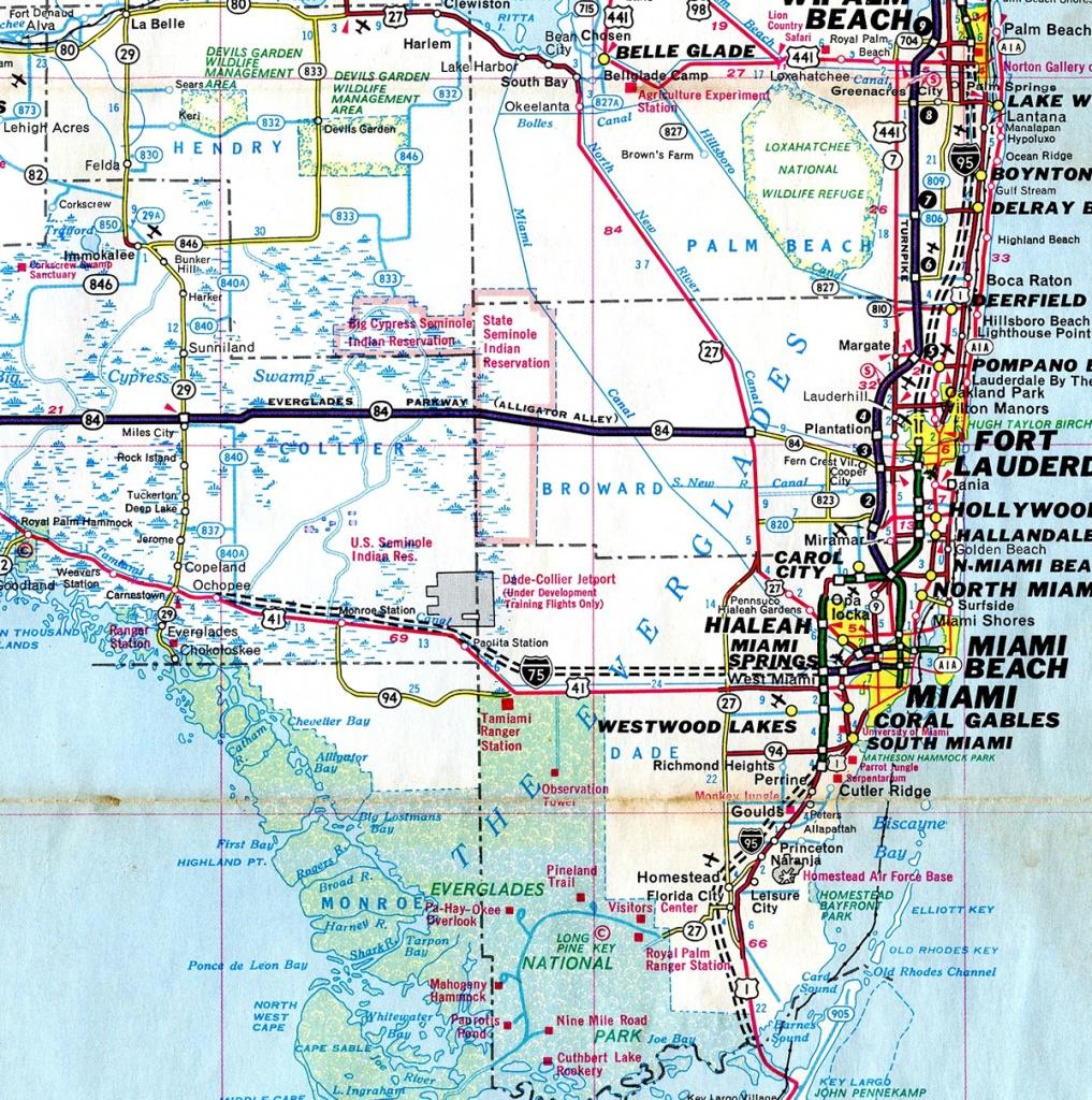 Alligator Alley Florida Map   Fysiotherapieamstelstreek - Alligators In Florida Map