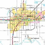 Amarillo Road Map   City Map Of Amarillo Texas