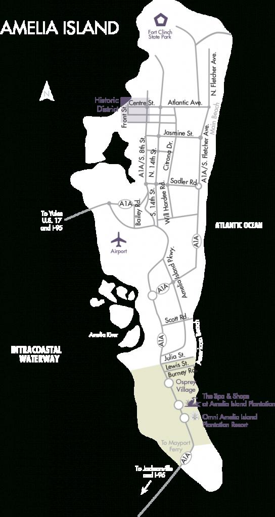 Amelia Island Real Estate | Fernandina Beach Homes For Sale - Amelia Island Florida Map