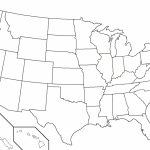 America State Map Quiz 50 States Inspiring World Us Lovely Blank For   50 States Map Blank Printable