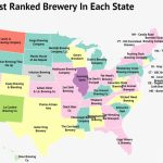 America The Brew Tiful: Mapping The Best Brewery In Each State   Zippia   Texas Breweries Map