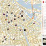 Amsterdam Printable Tourist Map | Sygic Travel   Printable Tourist Map Of Amsterdam
