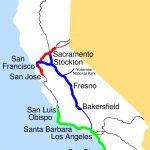 Amtrak California Simplified Map • Mapsof   Amtrak Map California