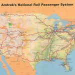 Amtrak System Map, 1993. — Amtrak: History Of America's Railroad   Map Of Amtrak Stations In Texas