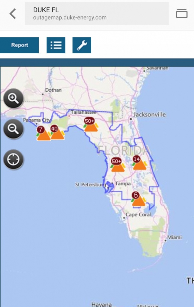 """Ana Gibbs On Twitter: """"stay Connected And Up-To-Date On Latest - Duke Florida Outage Map"""