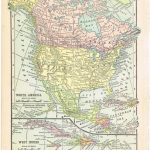 Antique Graphics Wednesday – 1900's Maps Of The World & All 50   Printable Antique Maps