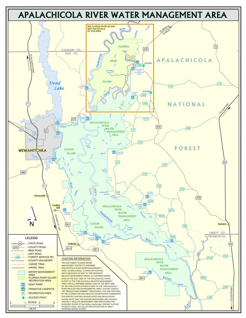 Apalachicola River   Northwest Florida Water Management District - Northwest Florida Water Management District Map