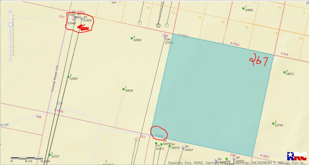 Approved Permits For Reeves County - Reeves County, Tx - Mineral - Reeves County Texas Plat Maps