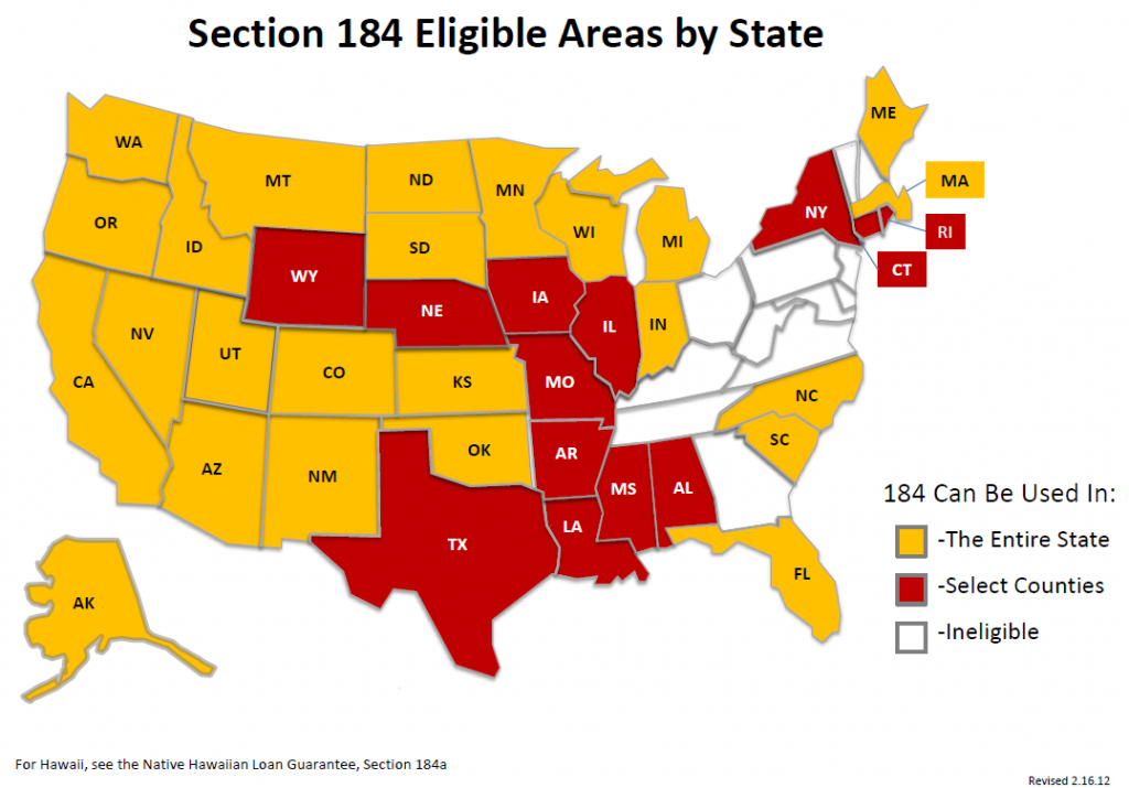 Are You Eligible For A Section 184 Loan? - Usda Eligibility Map Florida