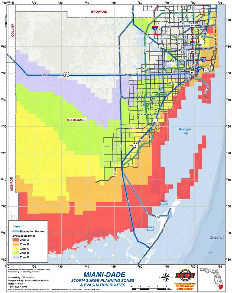 Are You In An Evacuation Zone? Here Is How To Know | Wlrn - Florida Evacuation Route Map