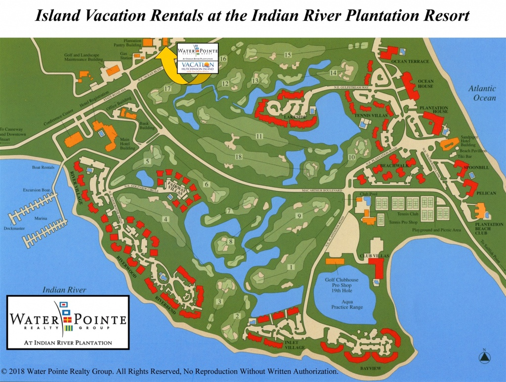 Area Map | Water Pointe Realty Group. Vacation Hutchinson Island - Hutchinson Florida Map