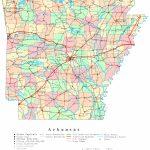 Arkansas Printable Map   Arkansas Road Map Printable