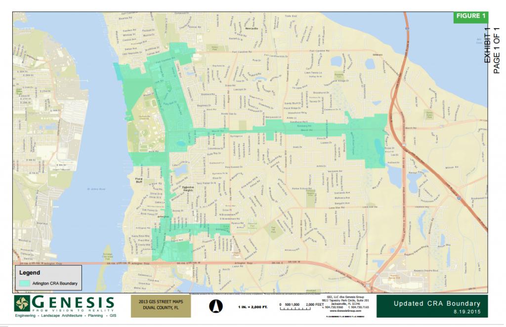 Arlington Redevelopment Plan Underway After Jacksonville City - Map To Jacksonville Florida