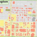 Arlington (Texas) Downtown Map   Arlington Texas Map