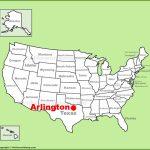 Arlington (Texas) Location On The U.s. Map   Arlington Texas Map