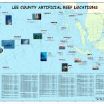 Artificial Reefs   Florida Fishing Reef Map